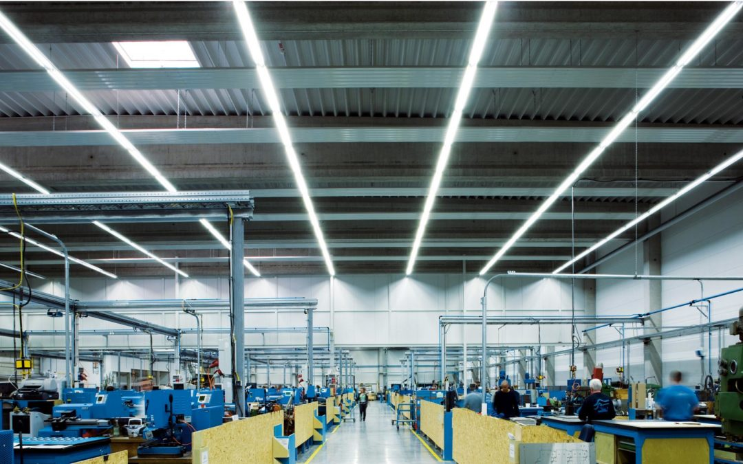 Illuminazione a LED per industrie